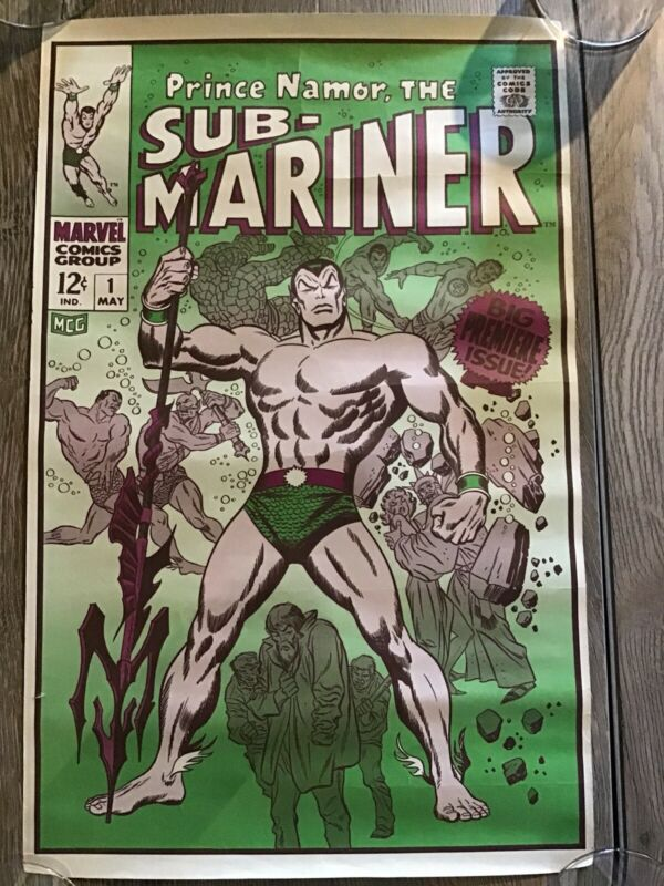 The Submariner Prince Namor Poster
