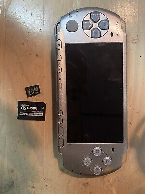 Sony PSP 3001 Slim Launch Edition Handheld System - Silver