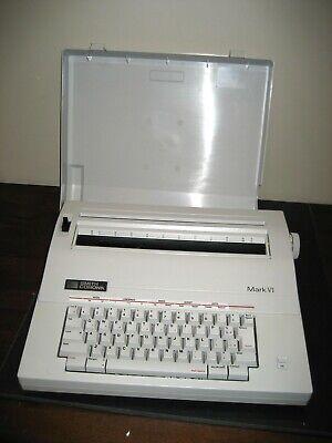 Refurbish Smith Corona Mark Vi Electronic Typewriterword Processor 12 Carriage