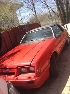 Parting out 86 mustang convertible LX