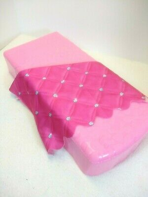 Barbie Dream House 2015 - Part Only - Pink Bed W/ Blanket