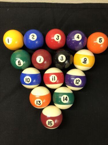 Set Of Pool Balls ( No White Ball)