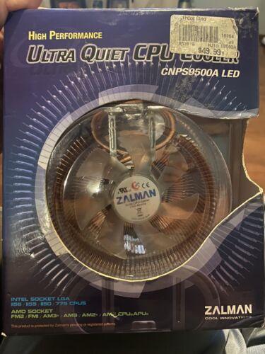 Zalman CPU Fan with 92mm Fan LED - CNPS9500A LED