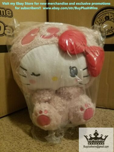 Sanrio Hello Kitty Panda With Red Bow Plush! + 1 Entry for Mystery Giveaway!
