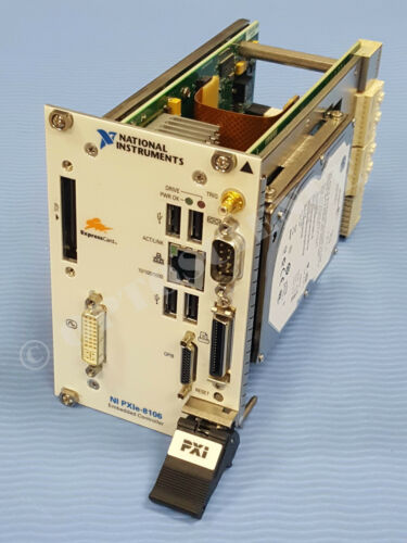 National Instruments NI PXIe-8106 Embedded Controller, Windows XP Pro