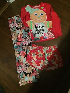 Size 14 youth 3 piece Christmas pyjamas
