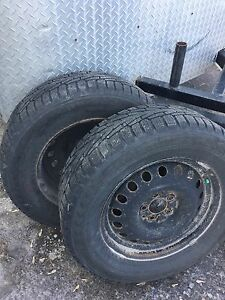 235/65 r17 snow tires and rims