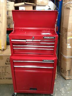 8 Drawers Tool Box with Side Handles and 4 Castors Wantirna South Knox Area Preview