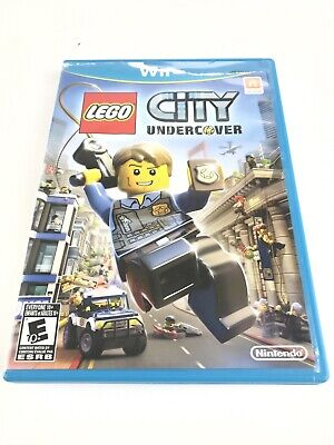 LEGO City Undercover (Nintendo Wii U, 2013) Complete
