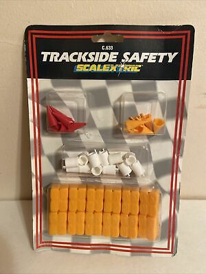 SCALEXTRIC TRACKSIDE SAFETY C633 HORNBY NEW ON CARD NOS