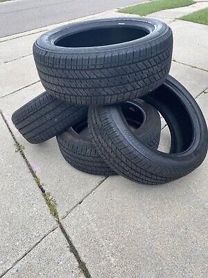 4 Used 275/50R22 Bridgestone Alenza A/S 02 111T - 95-99% Tread Life