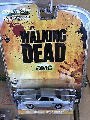 Greenlight  Hollywood 1971 Pontiac Gto Judge  The Walking Dead