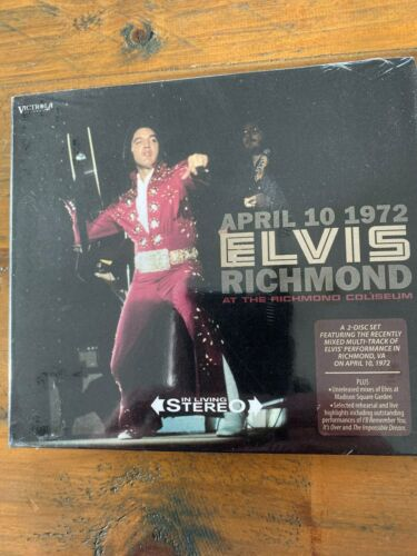 Elvis Presley 2 cd set - Elvis - April 10 1972, Richmond - sealed!!