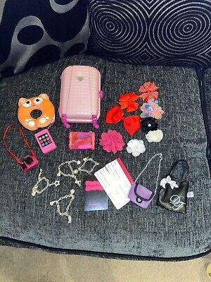 design a friend doll suitcase accessories