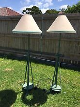 Classic wrought iron floor lamps Botany Botany Bay Area Preview