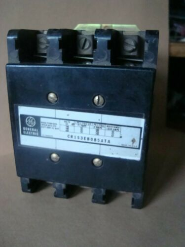 CR153EB085ATA  GE Contactor 3 Phase 100 Amp NOS