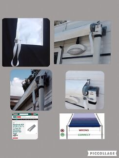 Caravan awning cover strip. Aust wide free deliv