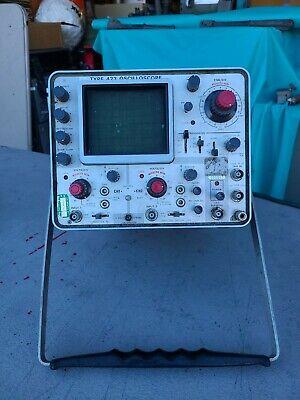 Vintage Tektronix Type 422 Oscilloscope Untested