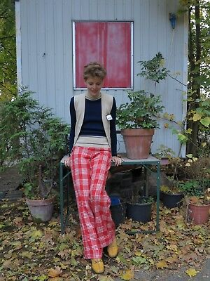 Moda tricot 2-Teiler 42 Rollkragenpullover Pullover Weste  70s TRUE VINTAGE NOS