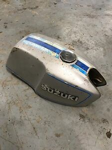 Old Suzuki gas tank