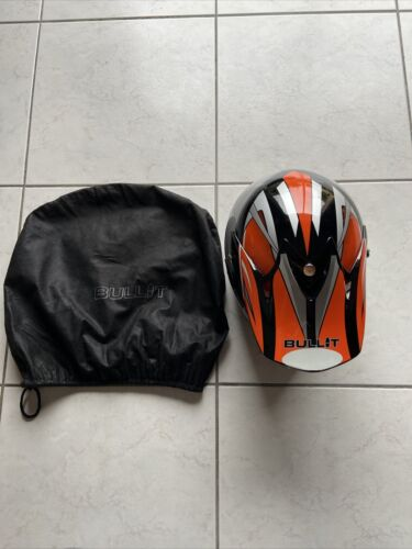 Casque moto cross bullit taille s