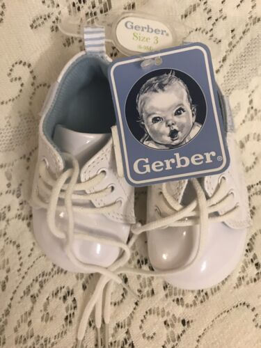 Gerber Shoes Size 3  Months  Infant Baby White