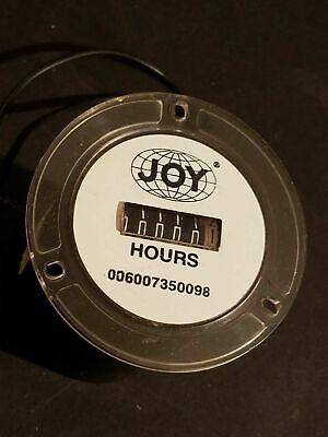 New Joy Mfg. Compressor Hour Gauge Meter Pn 006007350098