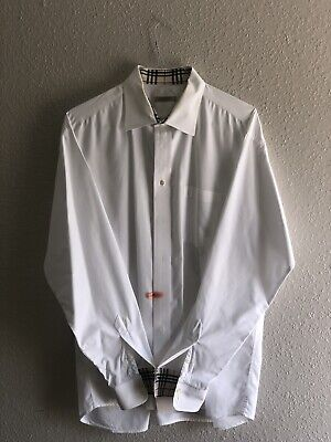 Men's Burberry dress shirt large