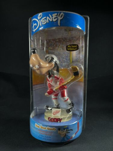Disney Detroit Red Wing NHL Hockey Slap Shot Goofy Bobblehead