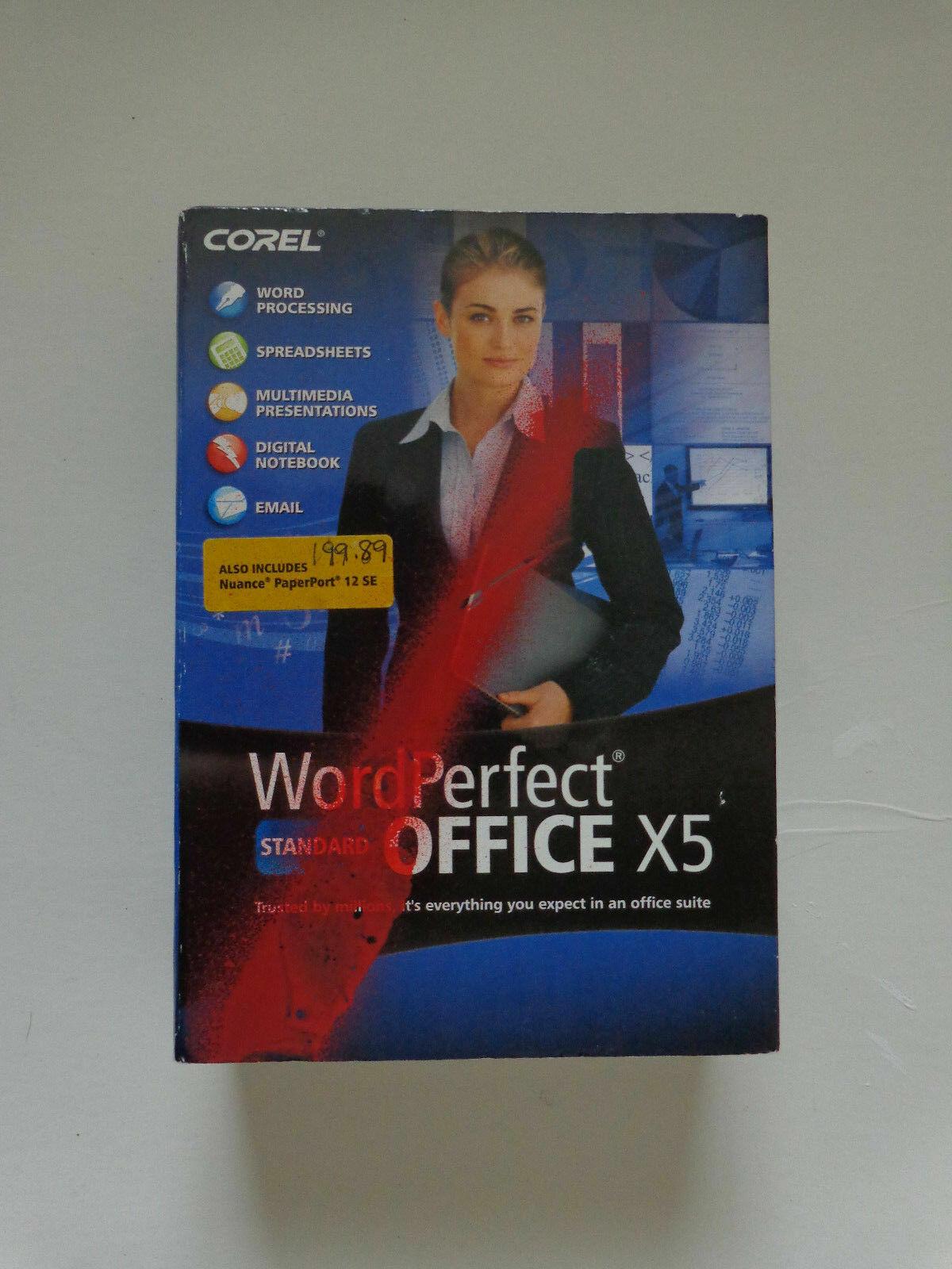 Corel WordPerfect Office X