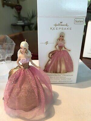 Hallmark Keepsake Barbie Celebration Christmas Ornament Special Edition 2009 NIB
