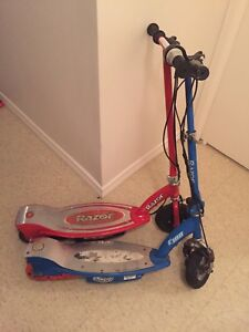 Two kids scooters for sale $30obo