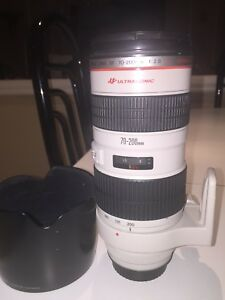 Canon 70-200mm 2.8 EF L ultrasonic