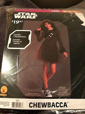 Halloween Costume Girl's Star Wars Chewbacca Medium or Large