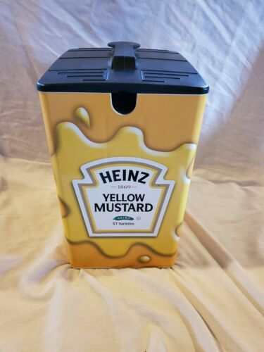 Heinz Yellow Mustard Dispenser Server Brand