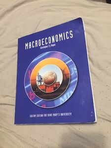 Macroeconomics textbook SMU