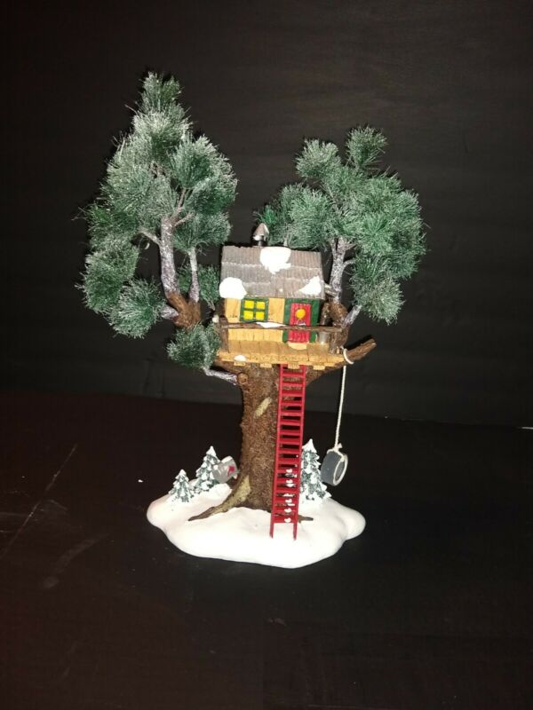 "Dept 56 Original Snow Village ""Treetop Tree House"""