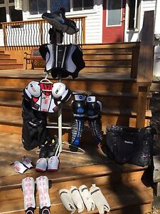 Youth hockey/ soccer equipment