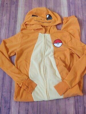 Pokemon Charizard Fleece Costume Adult Unisex MEDIUM *read