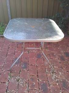 FREE outdoor glass table Stanmore Marrickville Area Preview