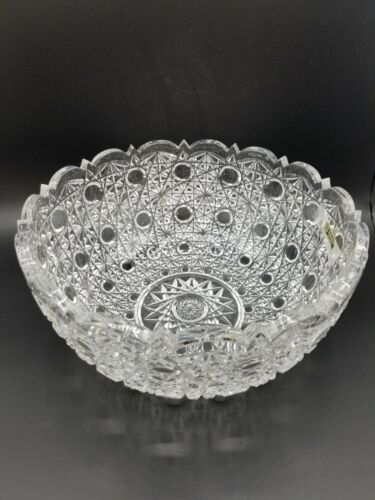 Rexxford Bavaria Germany Crystal Bowl Signed Limited Rare