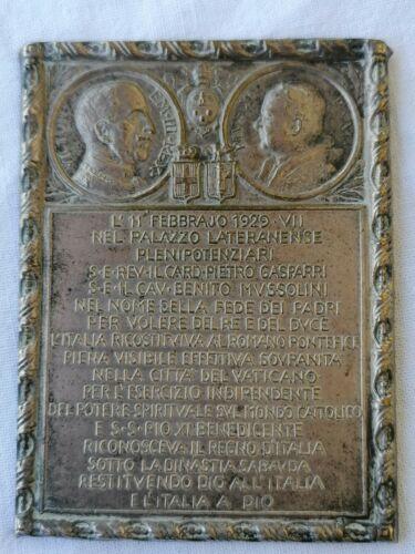 SPILLA DISTINTIVO PATTI LATERANENSI 1929 FASCIST BADGE LATERAN PACTS  WW2