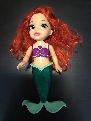 Disney ARIEL The Little Mermaid Singing & Talking Bathtime Doll- Light Up Tail
