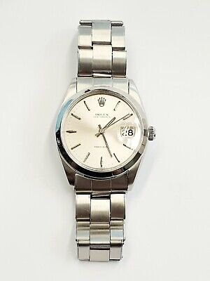 Rolex Oysterdate Precision 6694 Gents Watch Steel - Vintage 1967