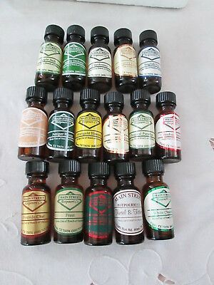 Main St. Potpourri Fragrant Oils, 1/2 oz.YOUR CHOICE - Defusors, (Fragrant Potpourri)