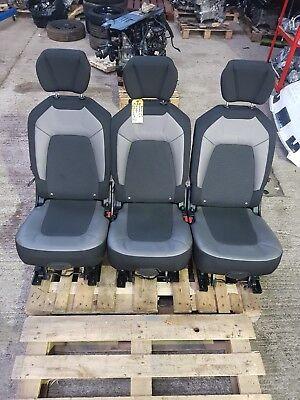 2014-on  CITROEN C4 PICASSO EXCLUSIVE  REAR SEAT LEFT RIGHT CENTRE