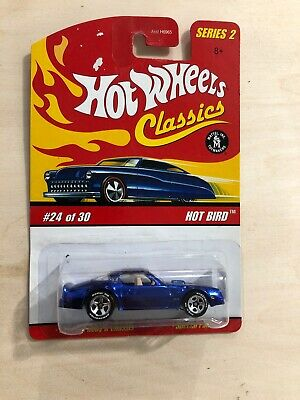 HOT WHEELS CLASSICS SERIES 2 HOT BIRD #24 OF 30 BLUE