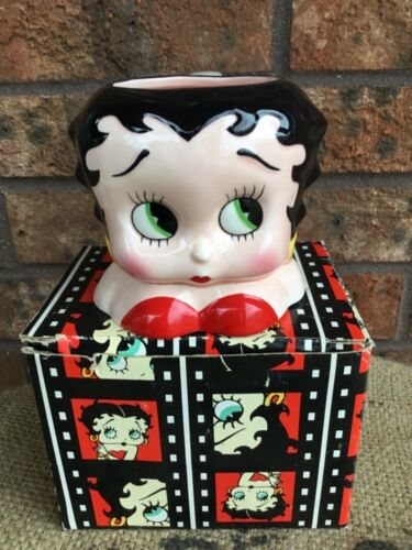 NEW in Box Vintage 1995 Betty Boop Face Mug #10601