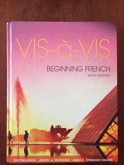 UWA French Textbook: Vis-à-Vis