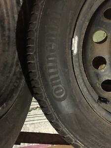 4x barely used all season Continental Tires 196/65 R159 1H